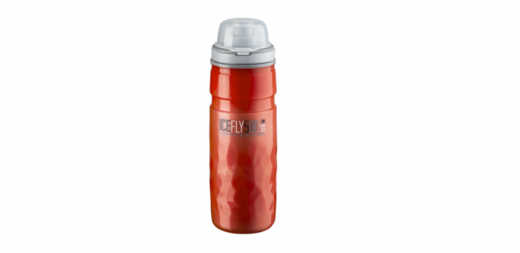 Termo bidon Elite Ice Fly Red 500ml