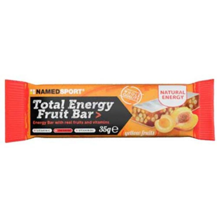Named Total Energy Bar Yellow Fruit